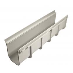 CANALE GRIGLIATO PVC