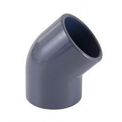 GOMITI 45° PVC PRESSIONE INCOLLAGGIO